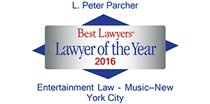 Named as one of The Best Lawyers in America, 2016