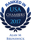 Ranked as a leading lawyer in Chambers USA<em> </em>2017