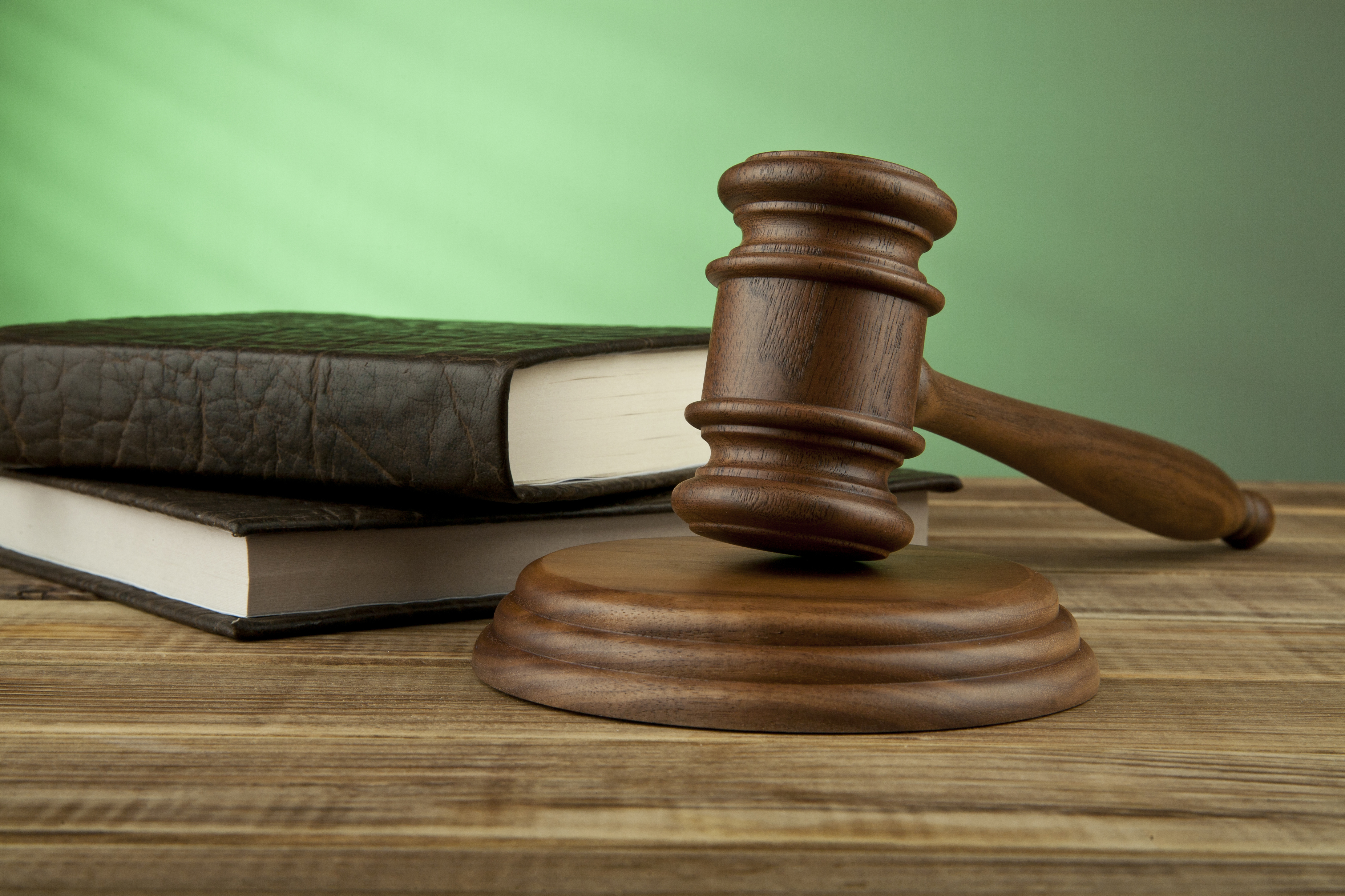 Gavel_with_Green_Background