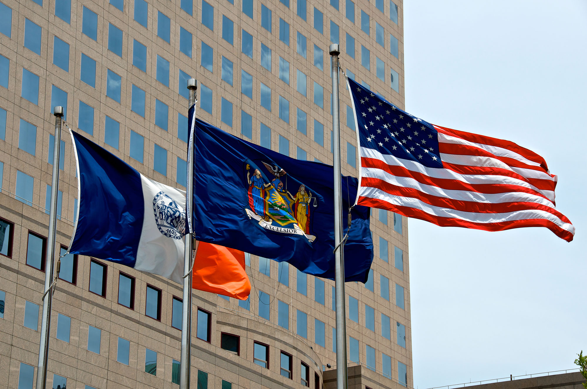 USA-NY-State-NYC-Flags
