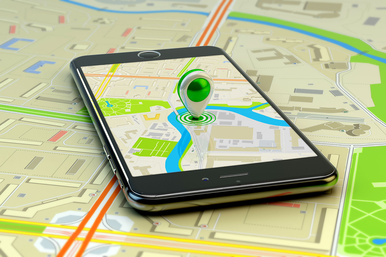 Mobile-gps-navigation-with-cell-phone