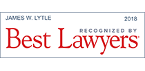Named as one of The Best Lawyers in America, 2018