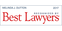 Named as one of The Best Lawyers in America, 2017