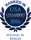 Ranked as a leading lawyer in Chambers USA<em> </em>2016